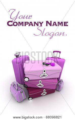 Customizable luxury travel image, ideal for inserting your own message