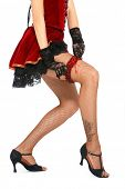 stock photo of bow-legged  - Burlesque - JPG