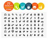 stock photo of cash cow  - set of 77 high quality supermarket - JPG