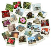 stock photo of trichy  - Stack Of Photo Shots With Southern India Landmarks - JPG