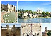 stock photo of avignon  - Photo collage Avignon  - JPG