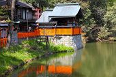 picture of inari  - Fushimi Inari Taisha shrine in Kyoto prefecture of Japan - JPG
