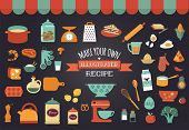 stock photo of recipe card  - Food icons and illustrations  - JPG