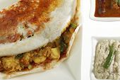 image of garam masala  - Mysore Masala Dosa Stuffed With potato Masala - JPG