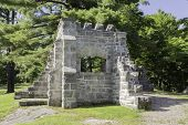 stock photo of prime-minister  - MacKenzie King Ruins - JPG