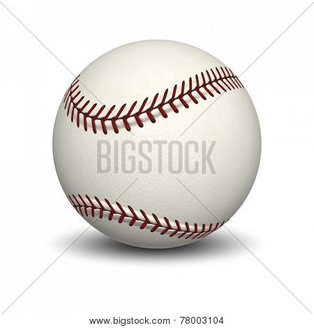 An image of a typical base ball
