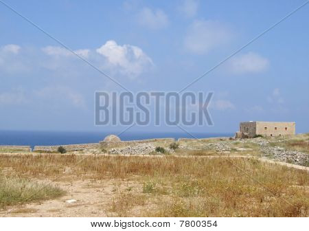 Rethymnon Fort - Inside