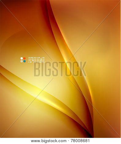 Orange  colors abstract hi-tech futuristic template