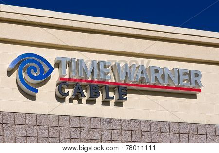 Time Warner Cable Building And Logo