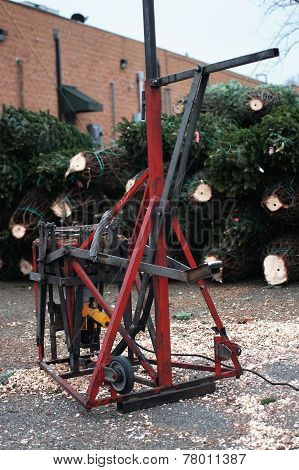 Christmas Tree Cutter