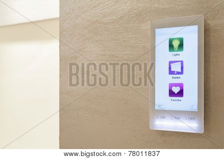 Touch Pad In Intelligent House