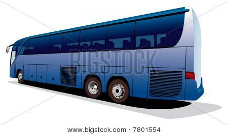 Large Tourist's Bus