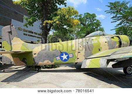 USAF plane at War Remnants Museum, Ho Chi Minh City (Saigon)