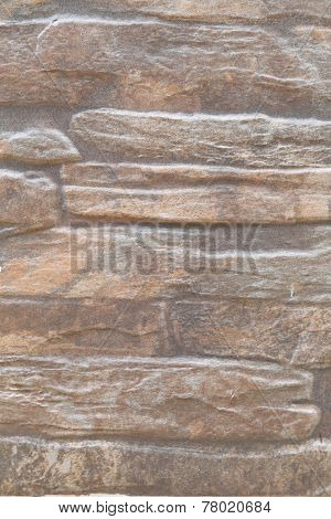 Uneven Brown Stone Surface