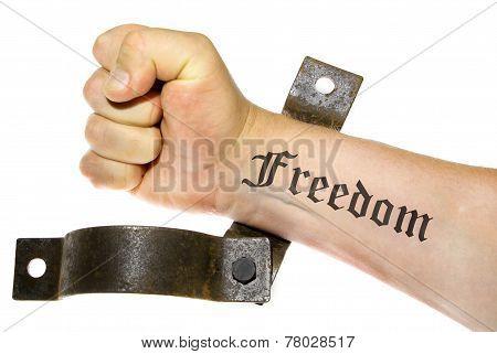 Freedom hand