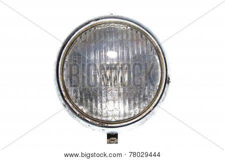Car Headlights Headlamp Vintage Isolated