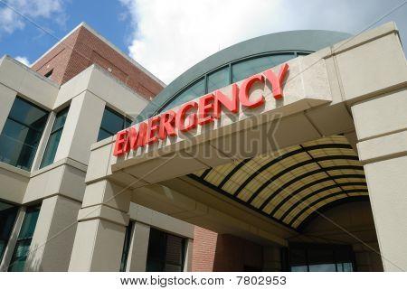Signo de la sala de emergencias