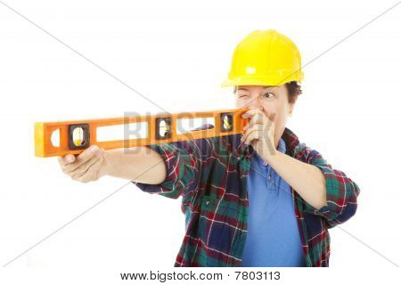Female Construction Worker - Level