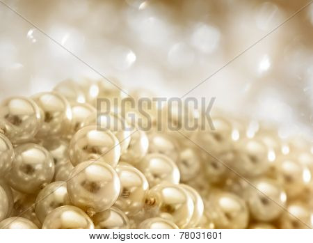 String Of White Pearls