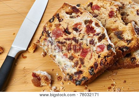 Pieces Of Fruitcake