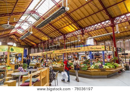 People Shop In The Old Market Hall I
