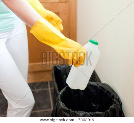 Radiant Housewife Cleaning