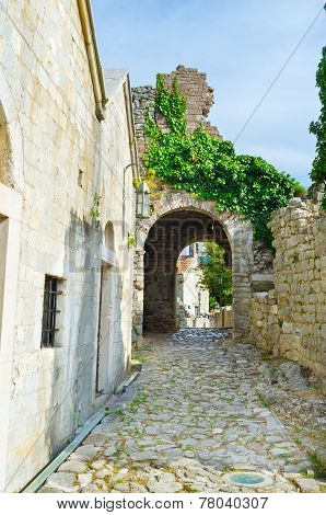 The Medieval Street
