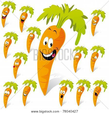 Carrot Cartoon