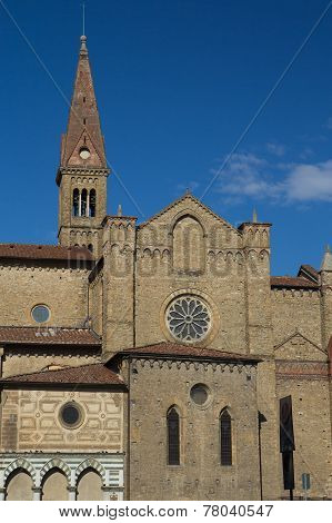 Basilica Di Santa Maria Novella In Florence
