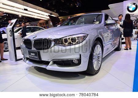 Nonthaburi - December 1: Bmw 320D Gran Turismo Car Display At Thailand International Motor Expo On D
