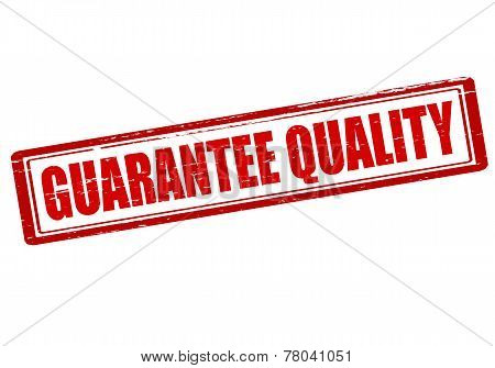 Guarantee Quality