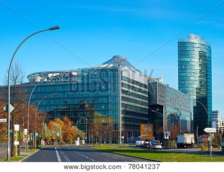 Central Businees District Of Berlin