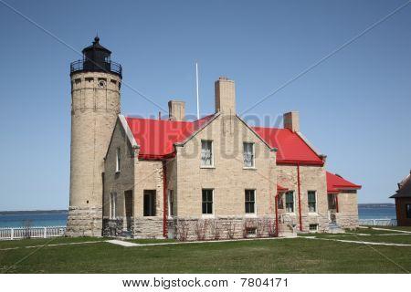 Lighthouse - Mackinac Point, Michigan