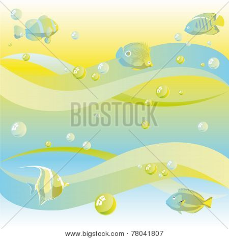 Dreamy Sea Background