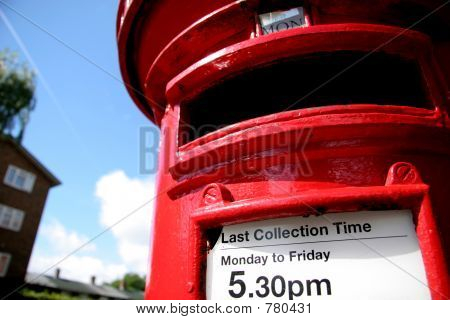 British Post Box