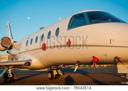 Landing In Airport.