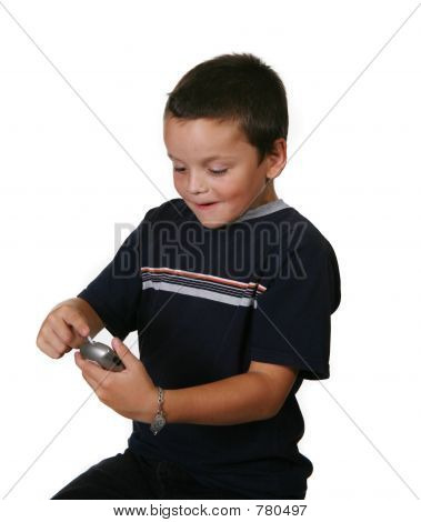 Child Checking Blood Sugar Levels