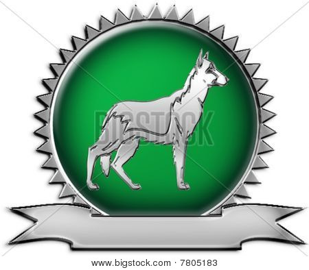 German Shepherd Breeder Emblem