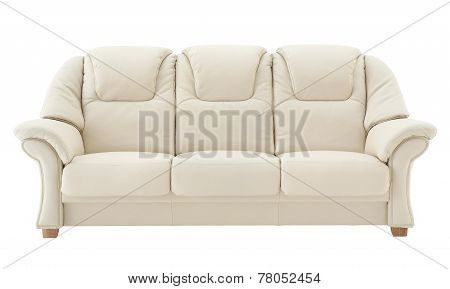 Light Beige Sofa.