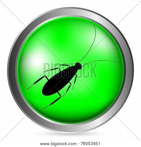 Cockroach Button