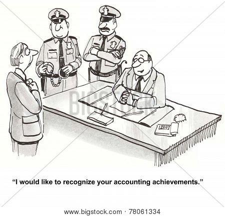 Embezzlement, Fraud