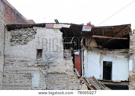 The Destroyed House