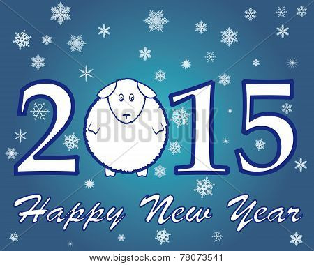 Blue New Year 2015