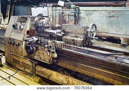 Bench Metal Lathe Machine