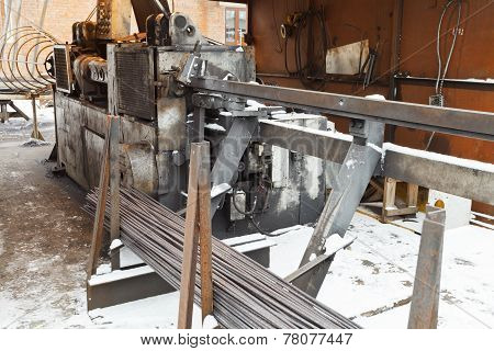 Rebar And Reinforcing Steel Cutting Bender Machine