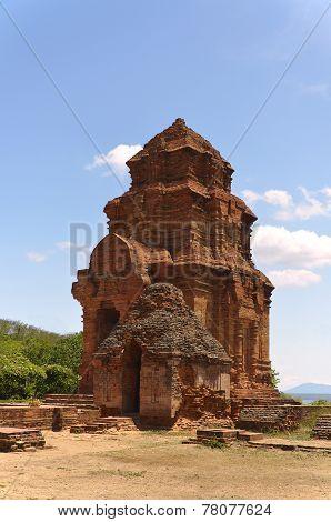 Cham Tower Poshanu In Vietnam, Phan Thiet