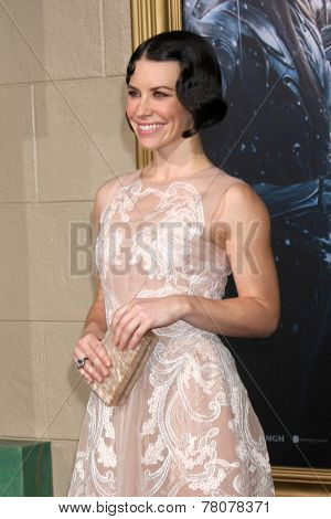 LOS ANGELES - DEC 9:  Evangeline Lilly at the