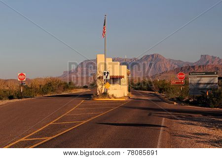 Western Entrance to Big Bend
