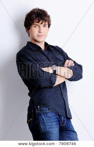 Pretty Young Guy Posing