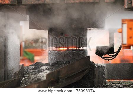 Automatic Hot Stamping Process